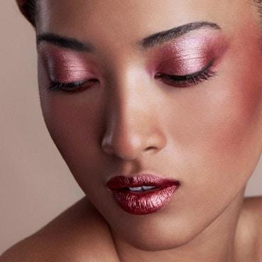 Stila - Trifecta Metallica  Lip, Eye and Cheek Stick -  Pink Sapphire