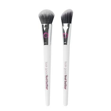 Look Good Feel Better - Foundation Duo Brush Set