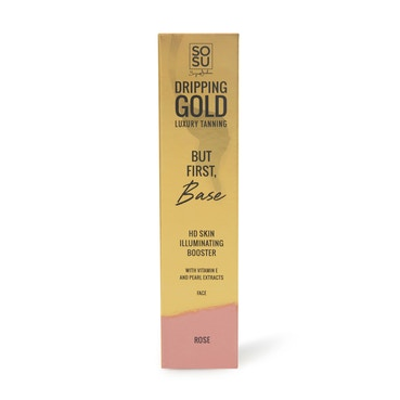 SOSU By Suzanne Jackson - Dripping Gold Face Base Primer - Rose