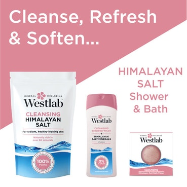 Westlab - Cleansing Shower Wash with Himalayan Salt Minerals - 400ml