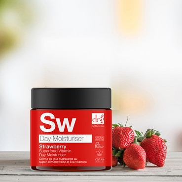 Dr Botanicals - Strawberry Superfood Vitamin C Day Moisturiser - 60ml