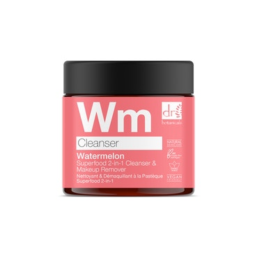 Dr Botanicals - Watermelon Superfood 2-in-1 Cleanser & Makeup Remover - 60ml