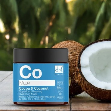 Dr Botanicals - Cocoa & Coconut Superfood Reviving Hydrating Mask - 60ml