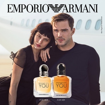 Emporio Armani Because It