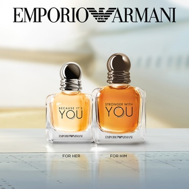 Emporio Armani Because It